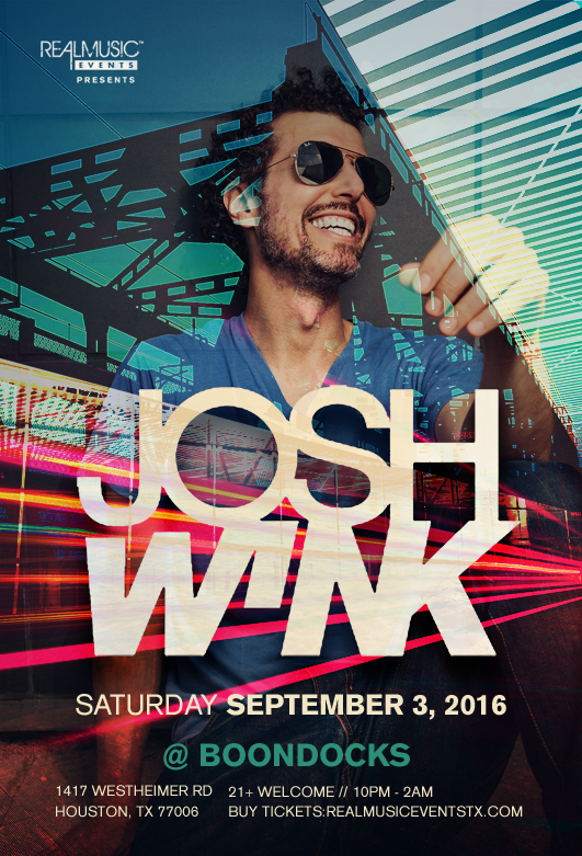 Josh Wink Boondocks Houston