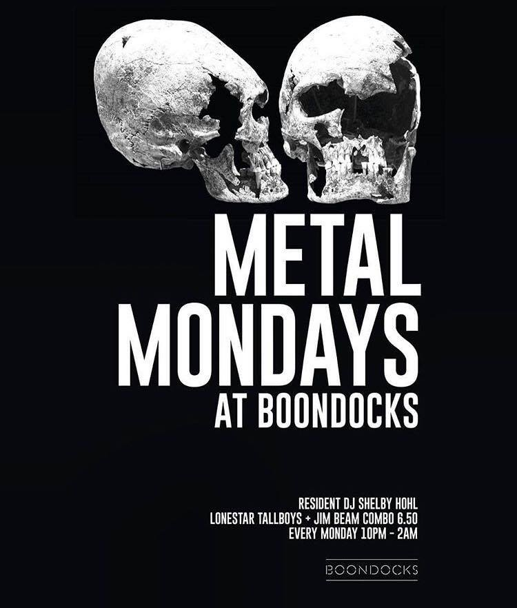 Metal Mondays Boondocks