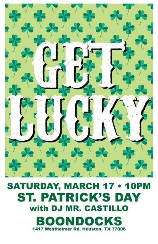 get lucky march 18