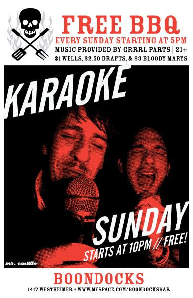 Karaoke Boondocks