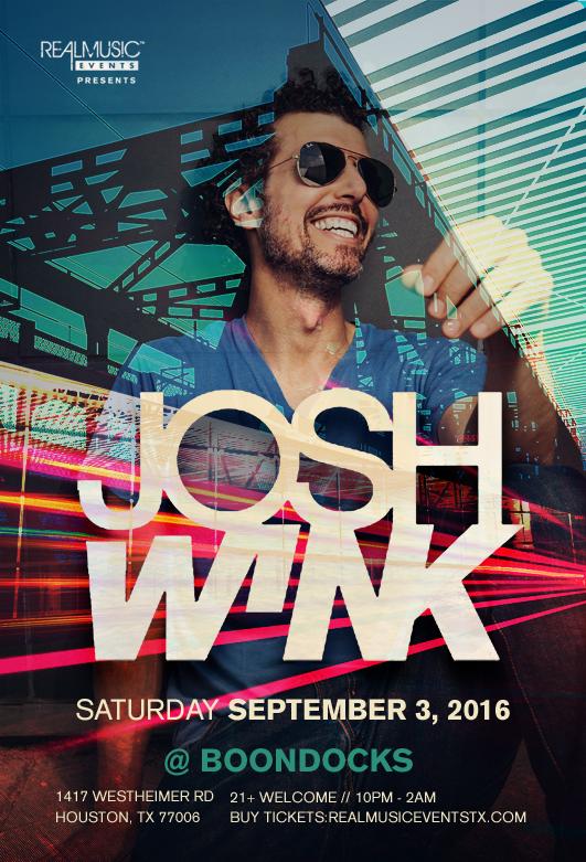 Josh Wink Boondocks Houston
