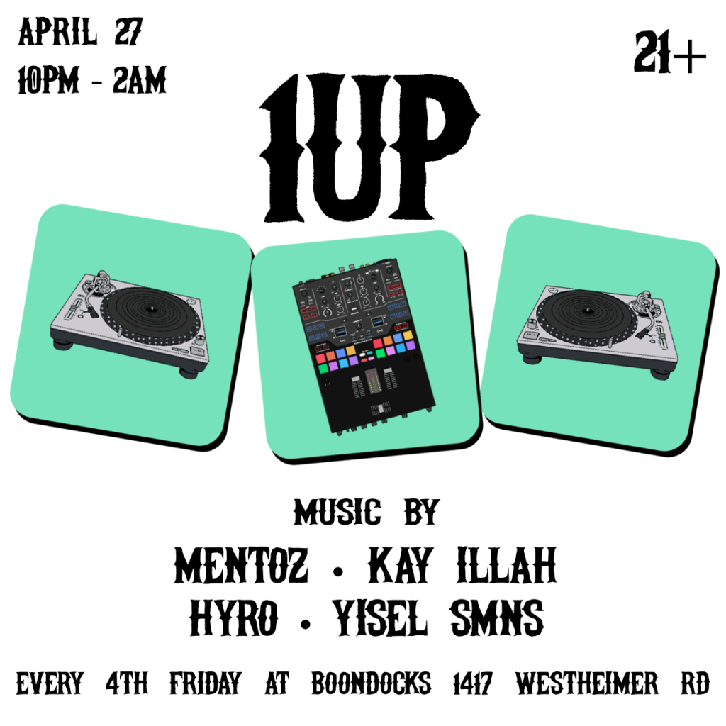1 UP Boondocks April