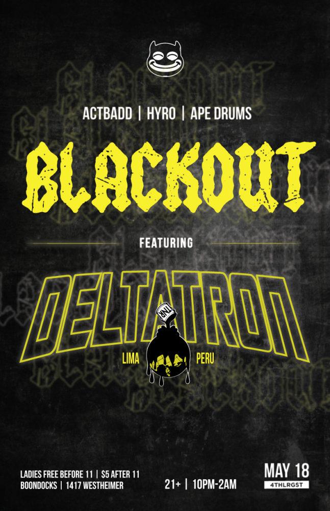 Blackout May Boondocks